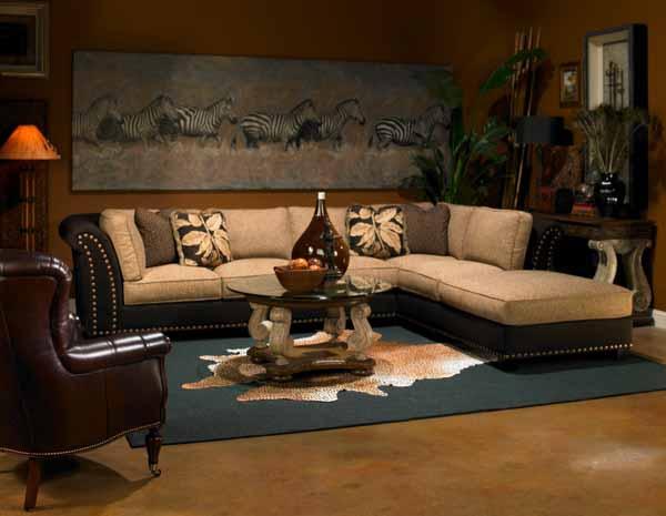 Декор интерьера в африканском стиле