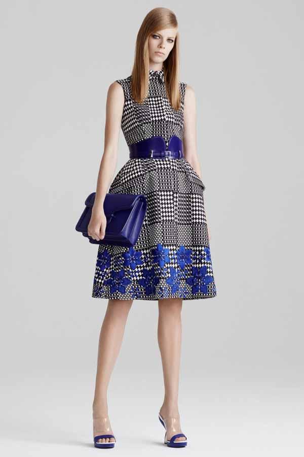 Курортная коллекция женской одежды  Alexander McQueen 2015
