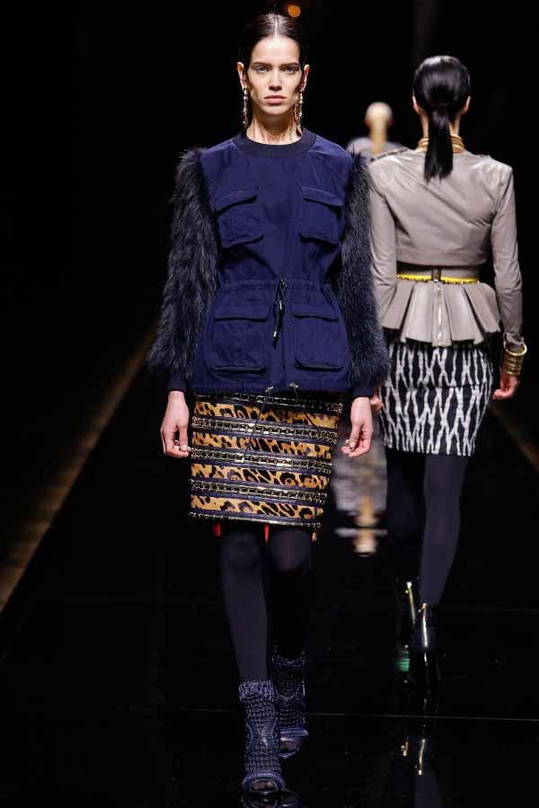 Коллекция женской одежды Balmain