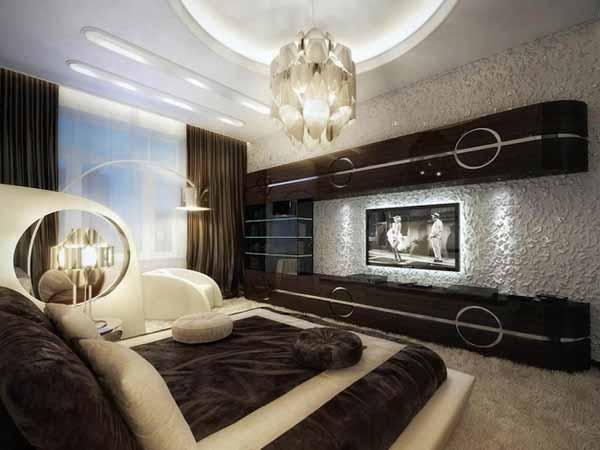 Идеи современного дизайна интерьеров спальни в различных стилях