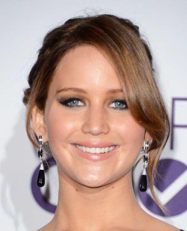 Лучшие прически 2014 Jennifer Lawrence