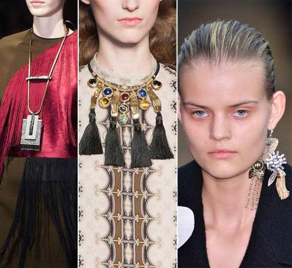 Крупные украшения - модный тренд сезона