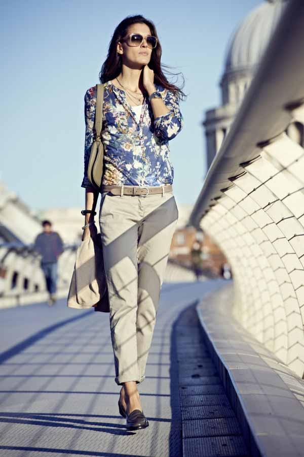 Городской стиль в женской одежде Осень 2014