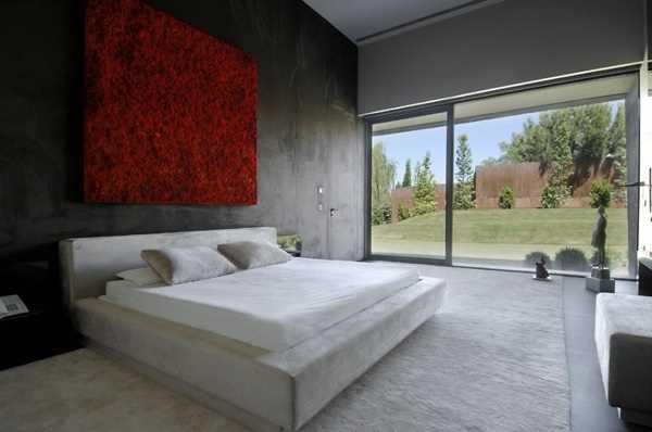 minimalist-bedroom-black