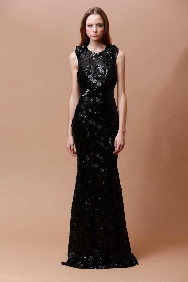 Самые красивые вечерние платья от Badgley Mischka