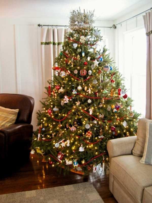 Как оригинально украсить Новогоднюю елку ФОТО