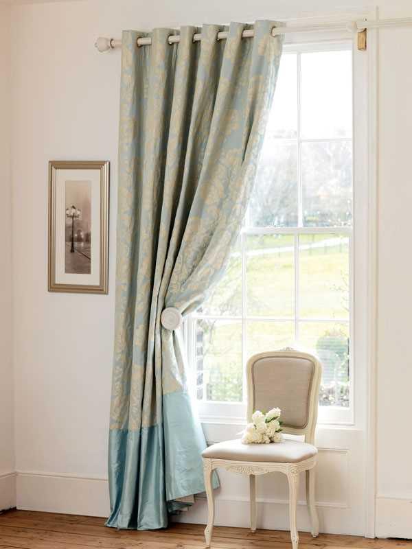 Освежаем интерьер с помощью красивых штор