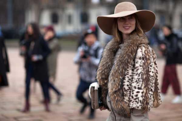 Модные фасоны шуб и меховых пальто Зима 2014