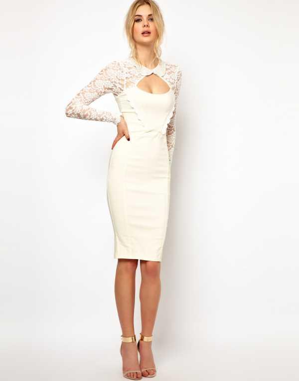С чем носить универсальное платье футляр | FASHION OBSESSION