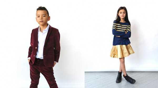Стильная детская одежда весна 2014