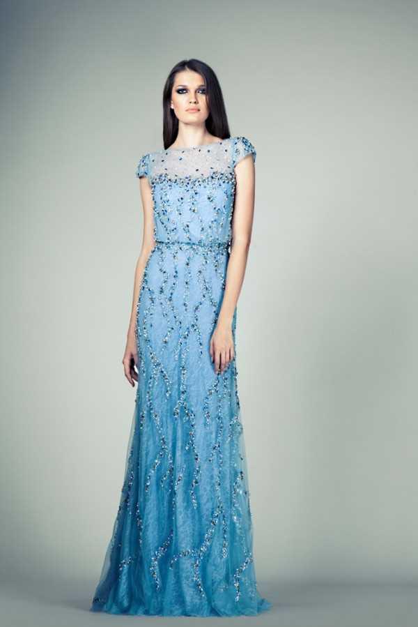 Коллекция вечерних платьев 2014 от Tony Ward на сезон Весна-Лето