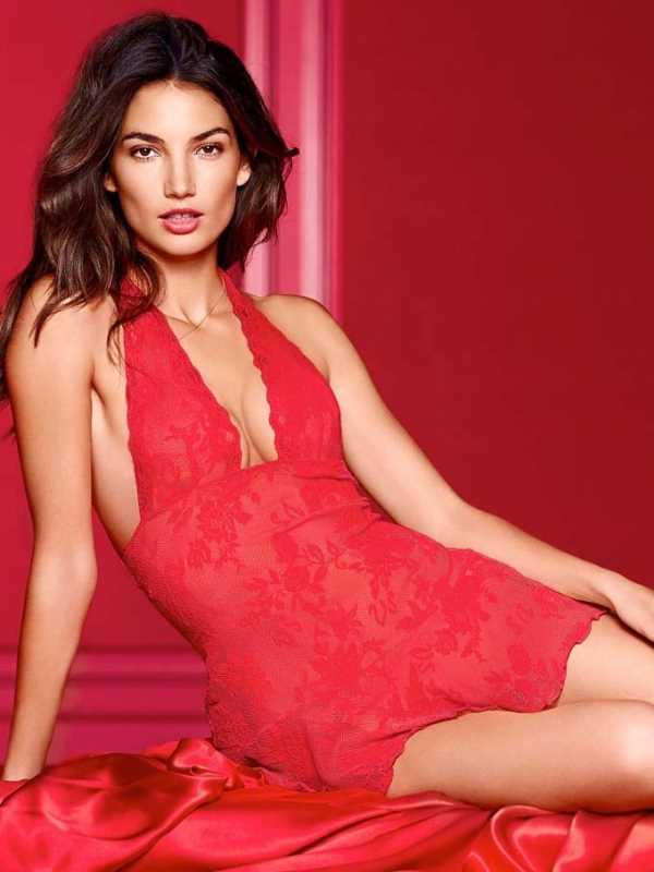 День Святого Валентина 2014 в белье Victoria's Secret