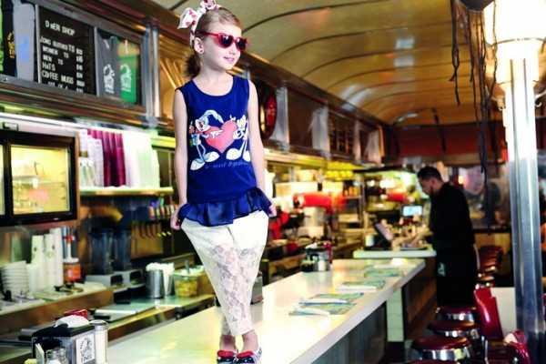 Модные детские образы на весну-лето 2014