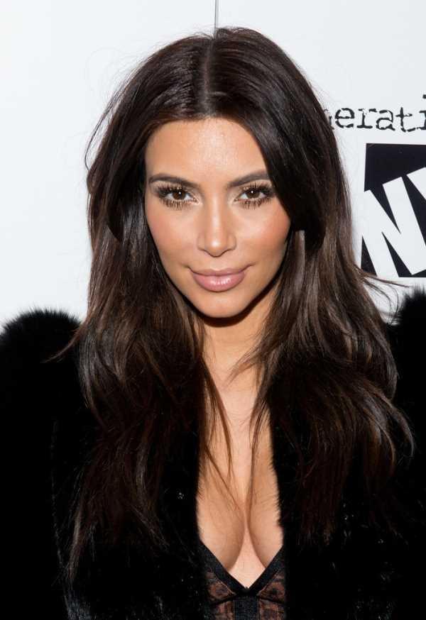 правильный контур лица от Kim Kardashian (Ким Кардашян)