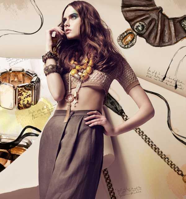 Элементы создающие стильные образы весной 2014
