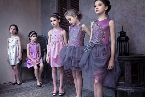 Коллекция детской нарядной одежды 2014 от Mischka Aoki