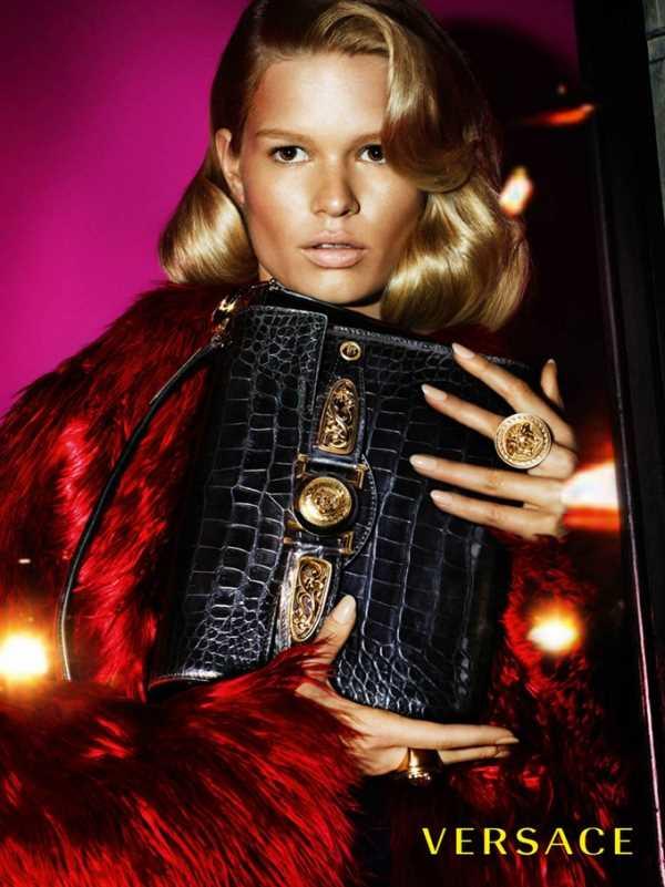 Рекламная кампания Versace на Осень-Зиму 2014-2015