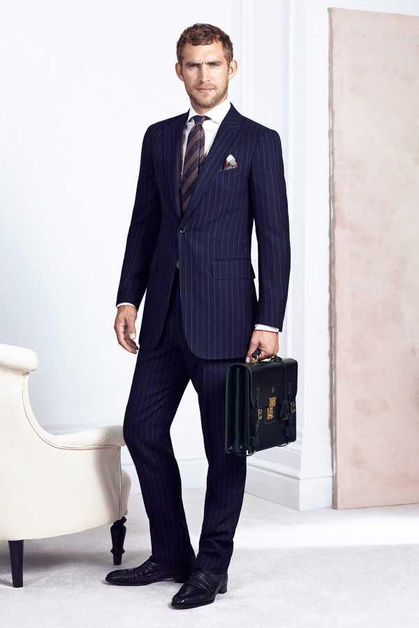 Каталог мужской брендовой одежды Dunhill Весна 2015
