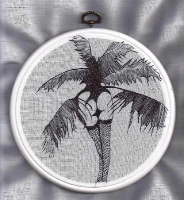 Художественная вышивка от Nastasja Duthois