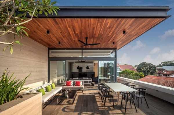 современный дизайн загородного дома