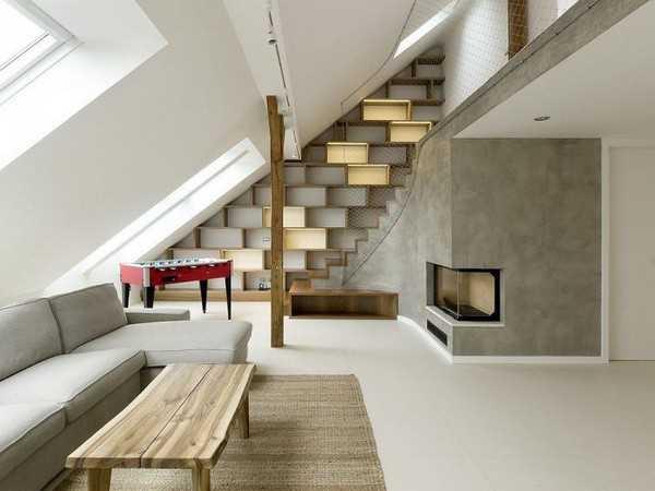 Современные интерьеры с камином