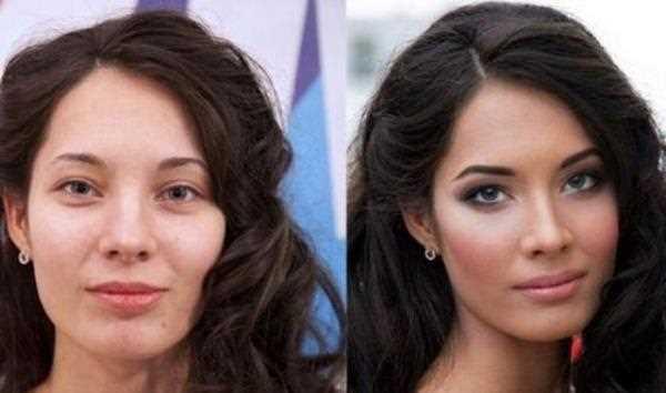 макияж творит чудеса