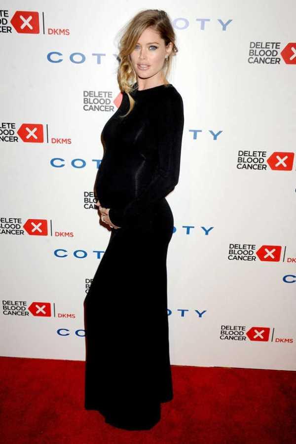 doutzen-kroes Как одеваются беременные звезды