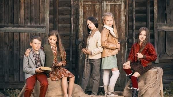 Коллекция детской одежды осень-зима 2014-2015 года от бренда YUME
