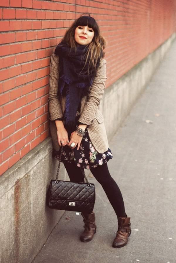 Модные луки на холодную осень