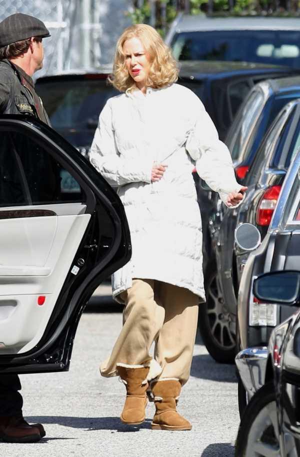 Nicole Kidman uggs