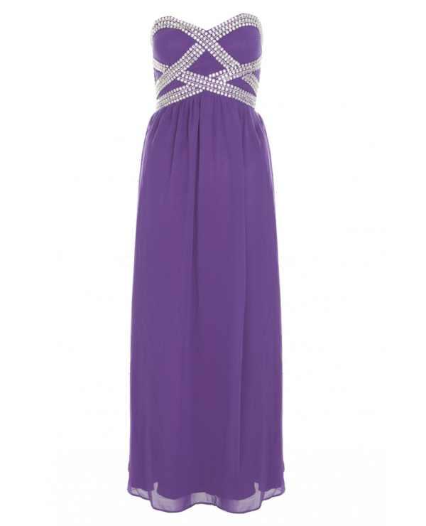 purple-and-silver-chiffon-bustier-maxi-dress