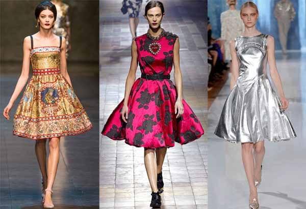 Самые стильные коктейльные платья 2014