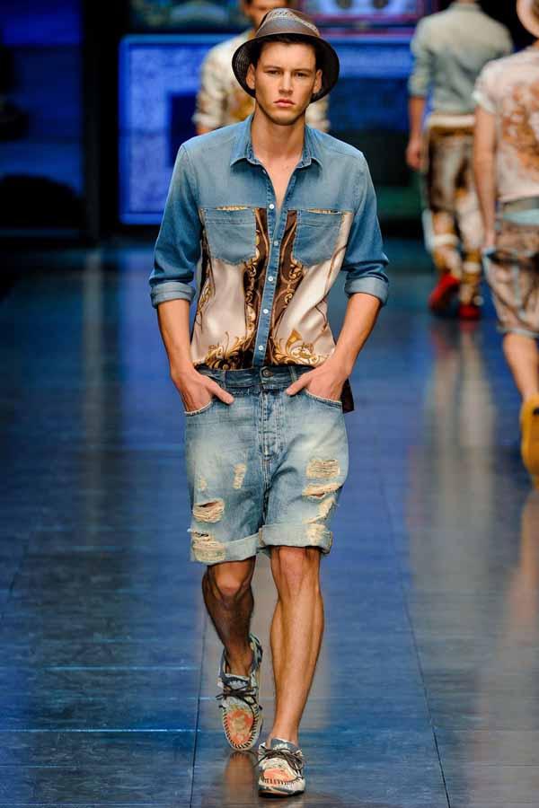Модная мужская одежда весна