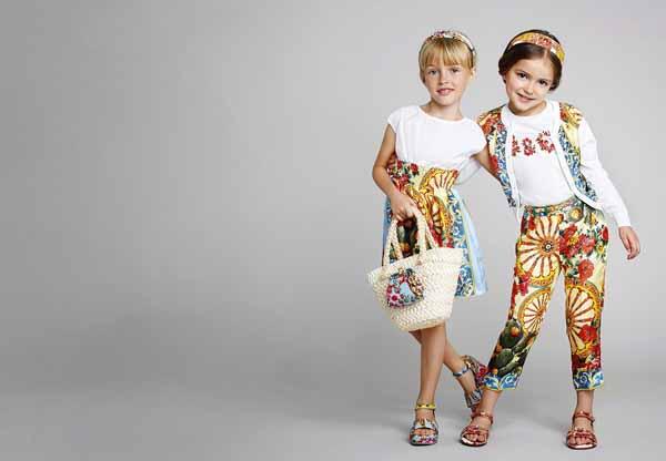 02e919503d40 Коллекция детской одежды на весну-лето 2014 года от Dolce   Gabbana