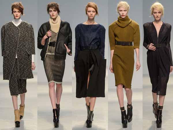 Модные зимние платья на сезон Зима 2013-2014