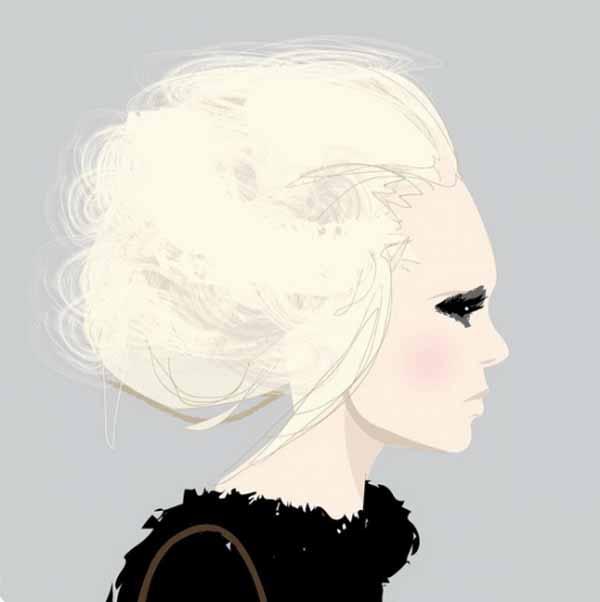 Fashion Иллюстратор Nuno DaCosta