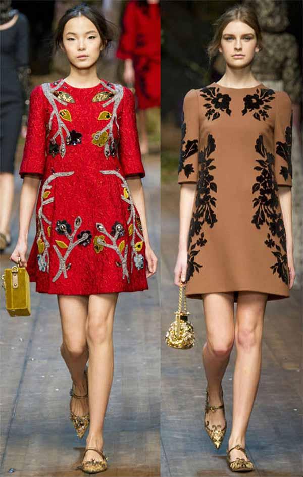 Модные Платья Осень