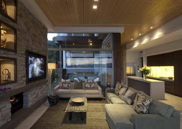 Свежие идеи для оформления гостиной комнаты