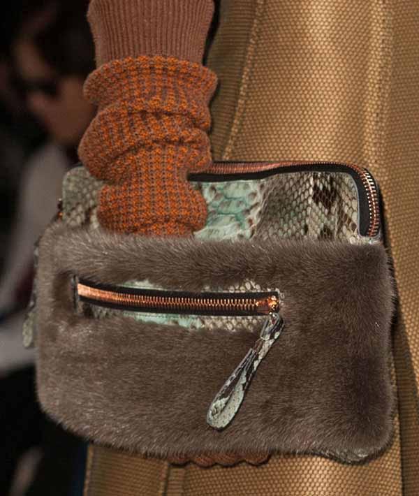 Модные меховые сумки сезона осень-зима 2014-2015
