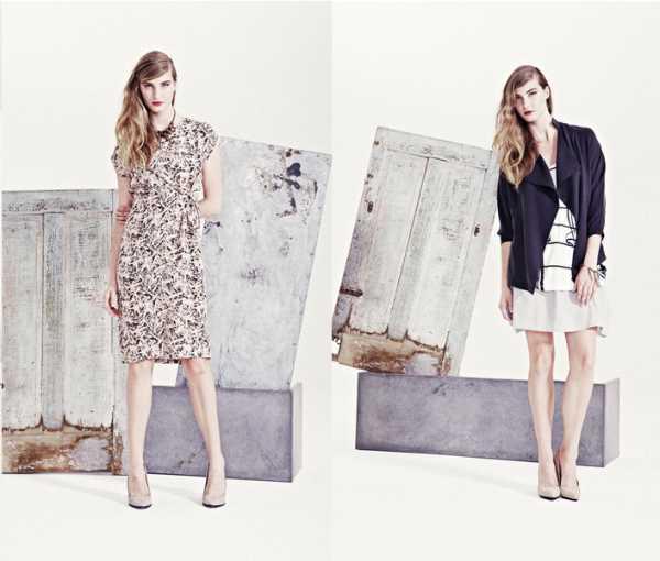 Женские образы на весну-лето 2014 от Helena Fredriksson