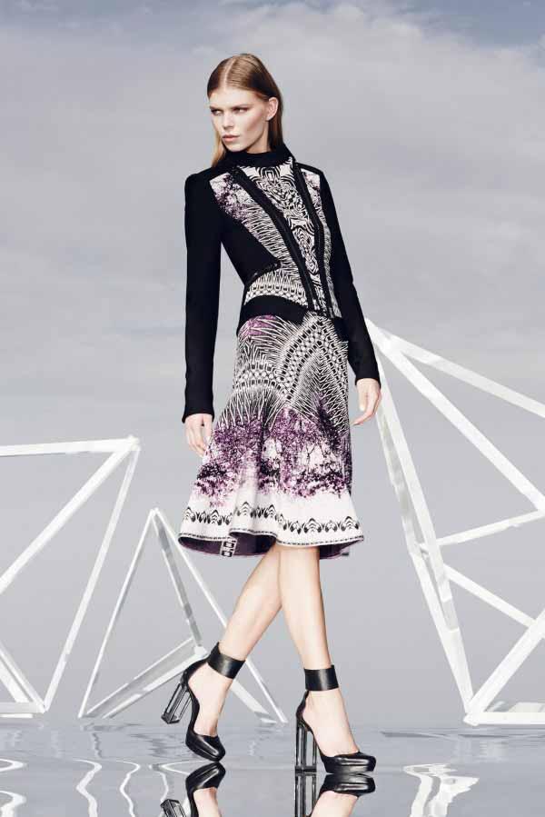 Платья и костюмы Herve Leger Коллекция Pre-Fall 2014