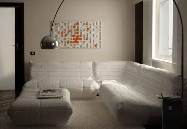 small-studio-with-white-sofas