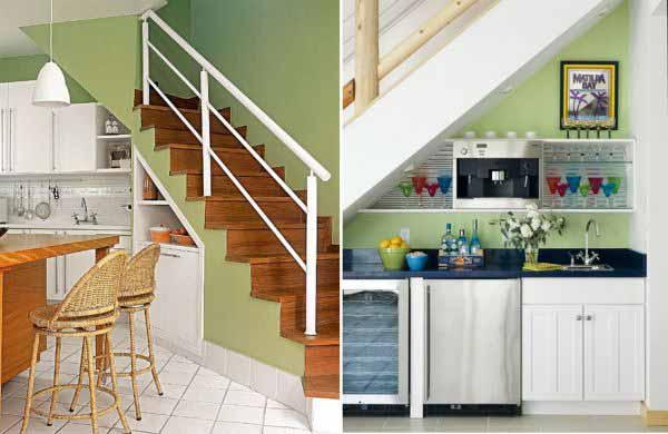 Как сделать из кухни лестницу 386