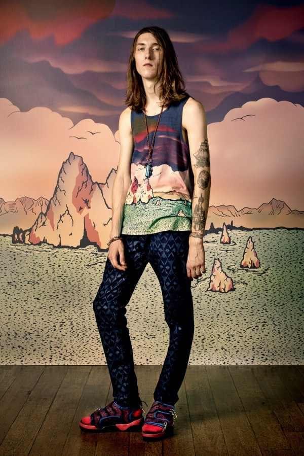 Тренды мужской моды от Marc by Marc Jacobs Весна 2015