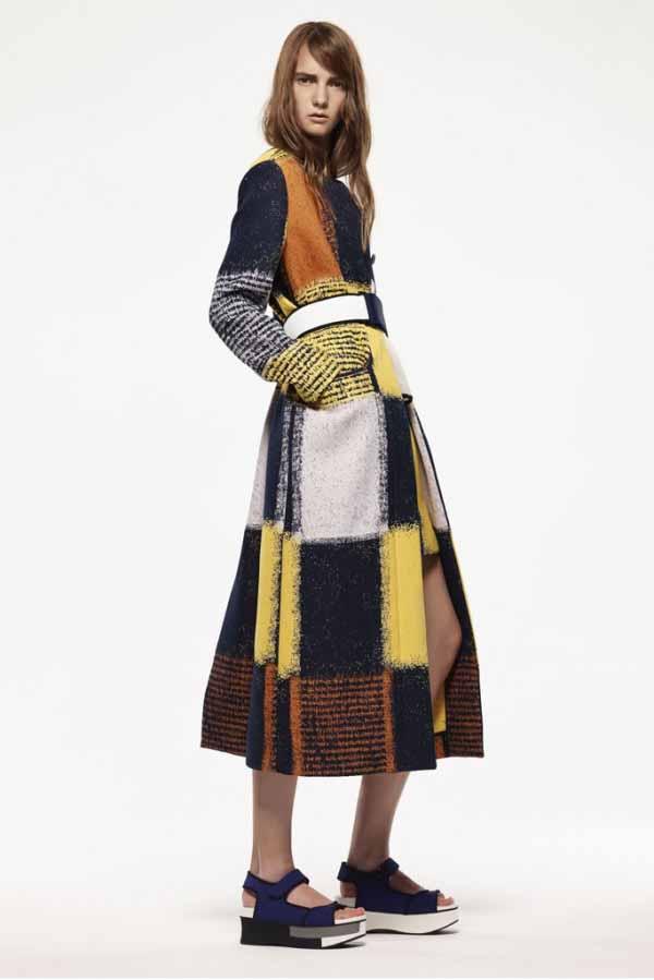 Коллекция женской брендовой одежды Marni, одежда на курортный сезон 2015 года