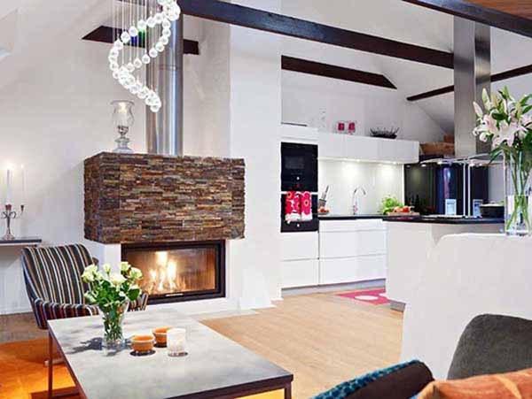 Современные интерьеры маленьких кухонь