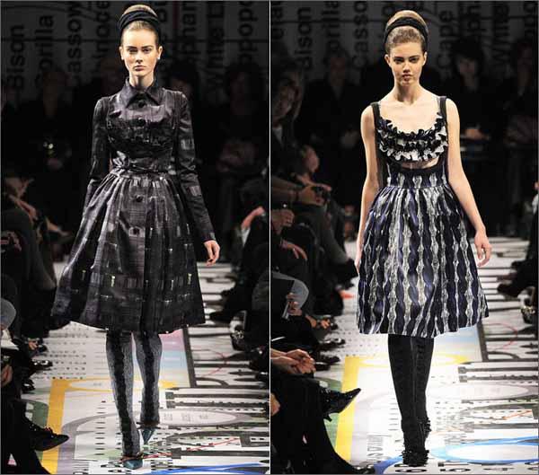 платья в стиле NEW LOOK prada