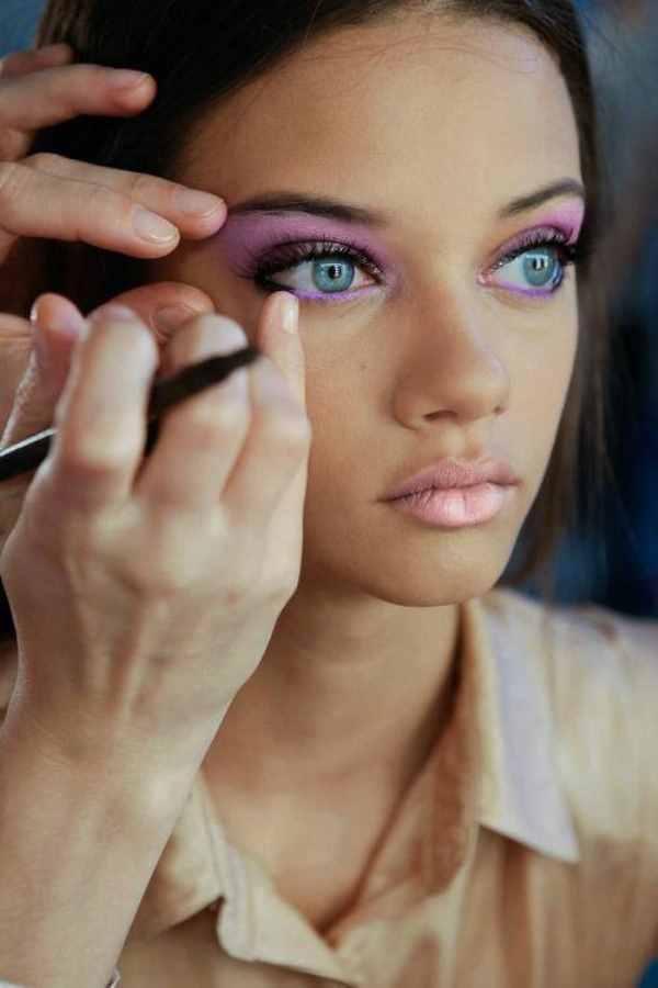 Примеры макияжа пастельных тонов фото