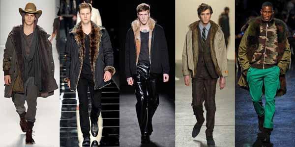 Модные мужские дубленки 2013-2014