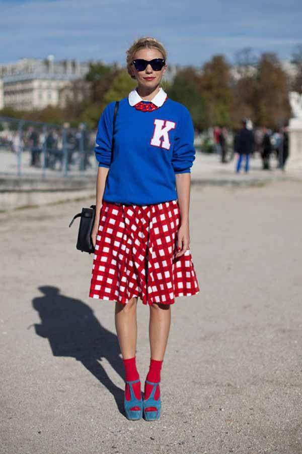 Как и с чем носить модные кофты на весну-лето 2014 года